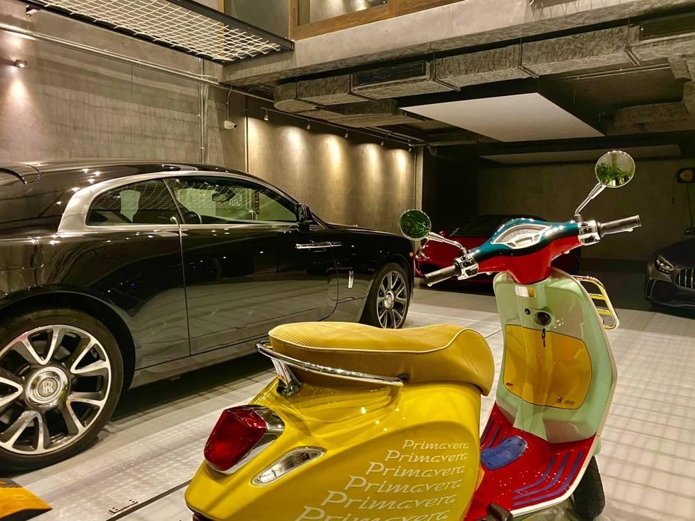 Dàn siêu xe và xe siêu sang có mặt trong garage của Cường Đô-la hiện nay