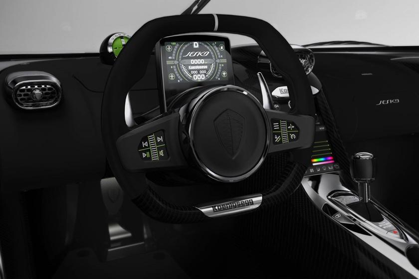 Hình ảnh nội thất của Koenigsegg Jesko Absolut