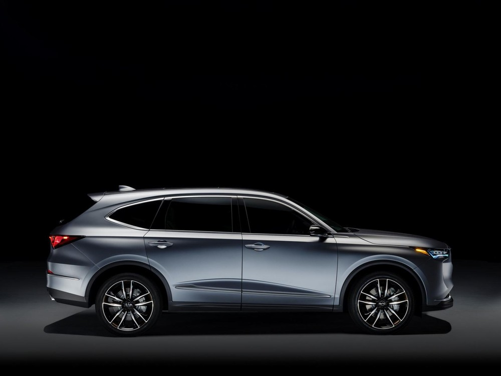 Thiết kế sườn xe của Acura MDX