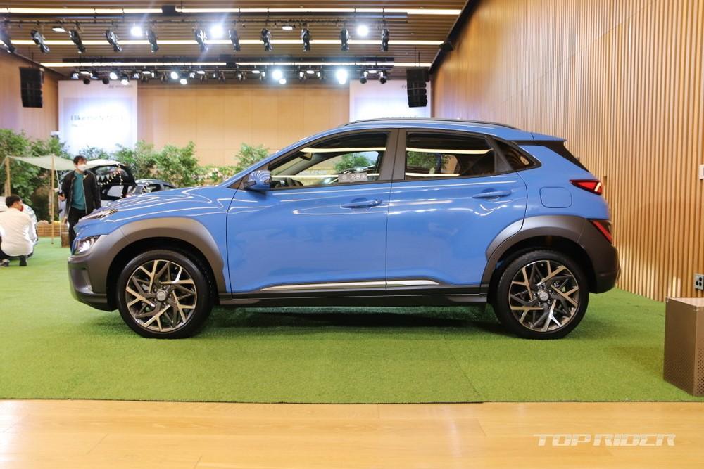 Hyundai Kona 2021 phiên bản hybrid