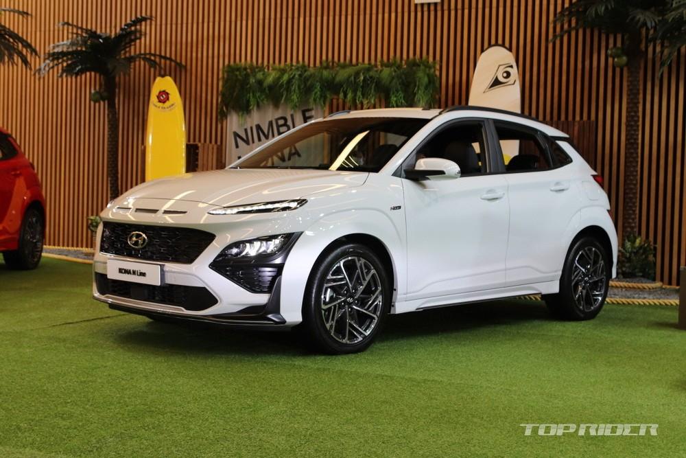 Chưa rõ liệu Hyundai Kona N Line 2021 có về Việt Nam hay không