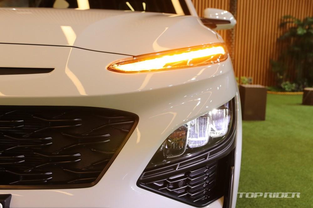 Hệ thống đèn trước mới của Hyundai Kona 2021