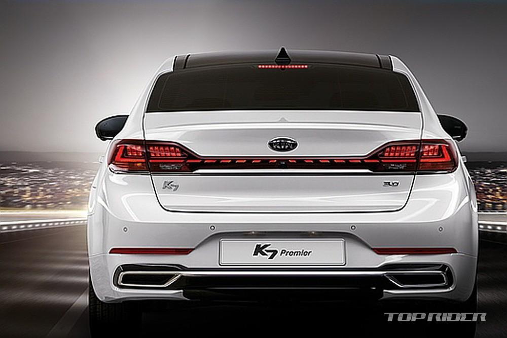 Kia K7 2021 có thêm cả trang bị an toàn mới