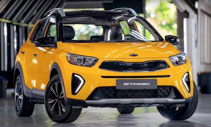 Kia Stonic 2021 sở hữu thiết kế khá nhỏ gọn nhưng táo bạo
