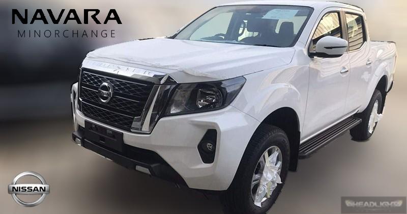 Nissan Navara 2021 bị bắt gặp trên đường thử