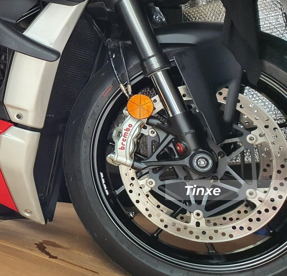 Ducati Stradale V4 2020 có công suất lên đến 221 mã lực khi lắp ống xả Akrapovic Full System