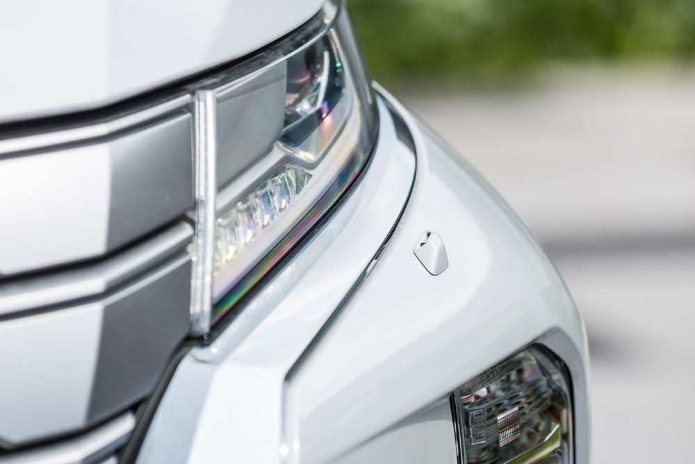 Thiết kế ngoại thất của SUV Pajero Sport 2021
