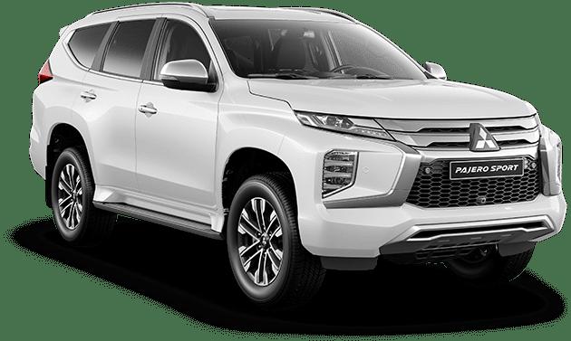 Giá xe Mitsubishi Pajero Sport 2021 màu trắng