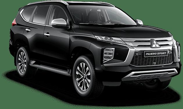 Giá xe Mitsubishi Pajero Sport 2021 màu đen