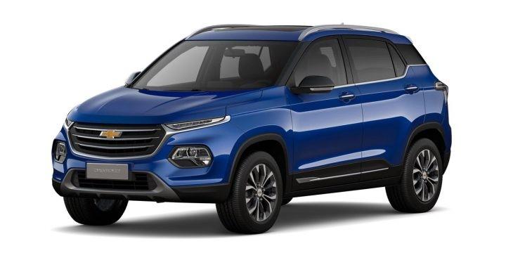 Chevrolet Groove 2020 màu xanh dương