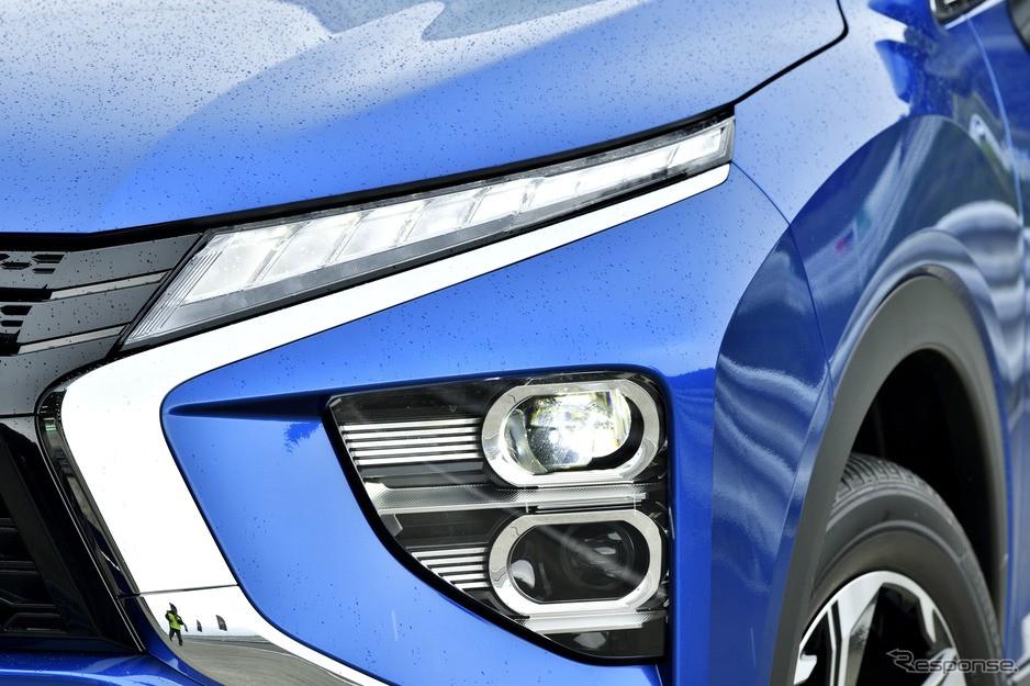 Cận cảnh đèn trên đầu xe của Mitsubishi Eclipse Cross 2021