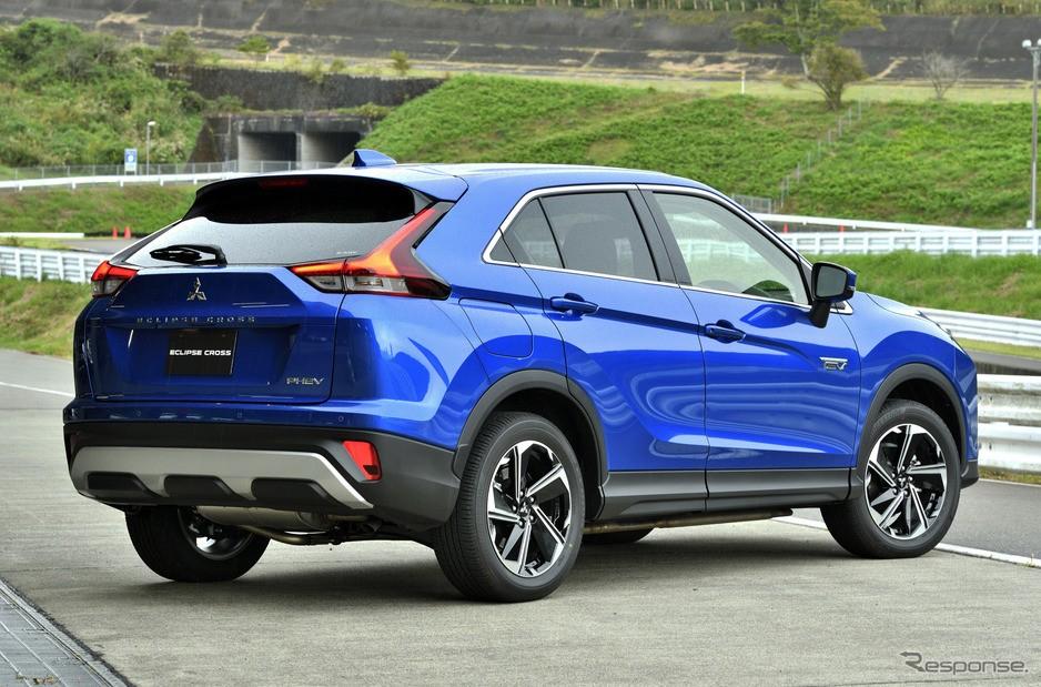 Thiết kế đuôi xe của Mitsubishi Eclipse Cross 2021