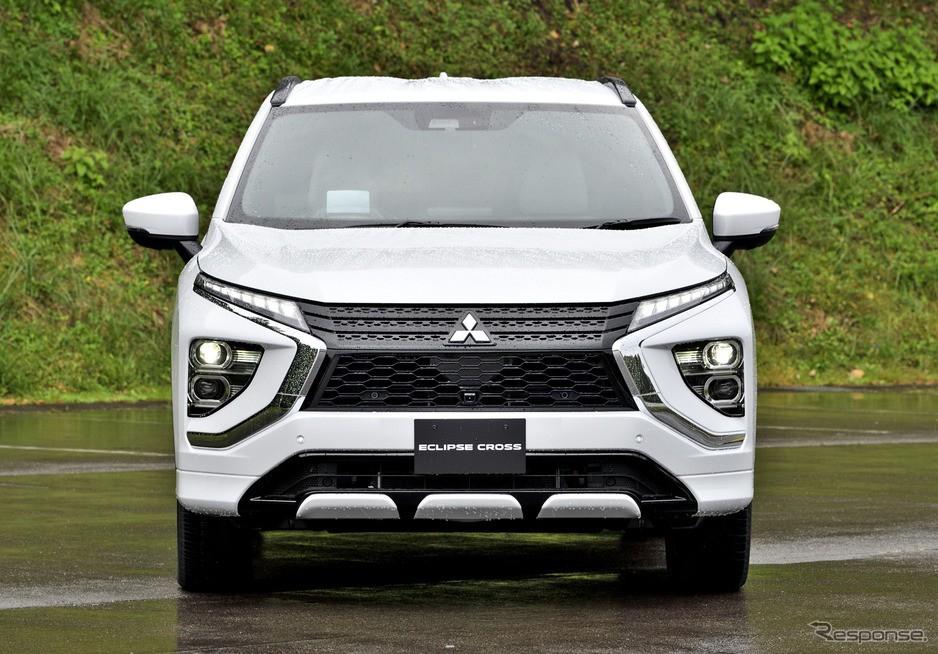 Cận cảnh thiết kế đầu xe của Mitsubishi Eclipse Cross 2021