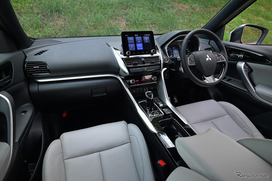 Nội thất bên trong Mitsubishi Eclipse Cross 2021