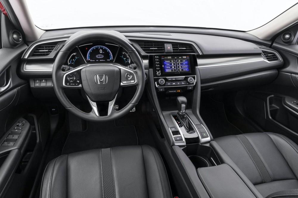 Honda Civic Sedan 2021 không có nhiều thay đổi so với trước