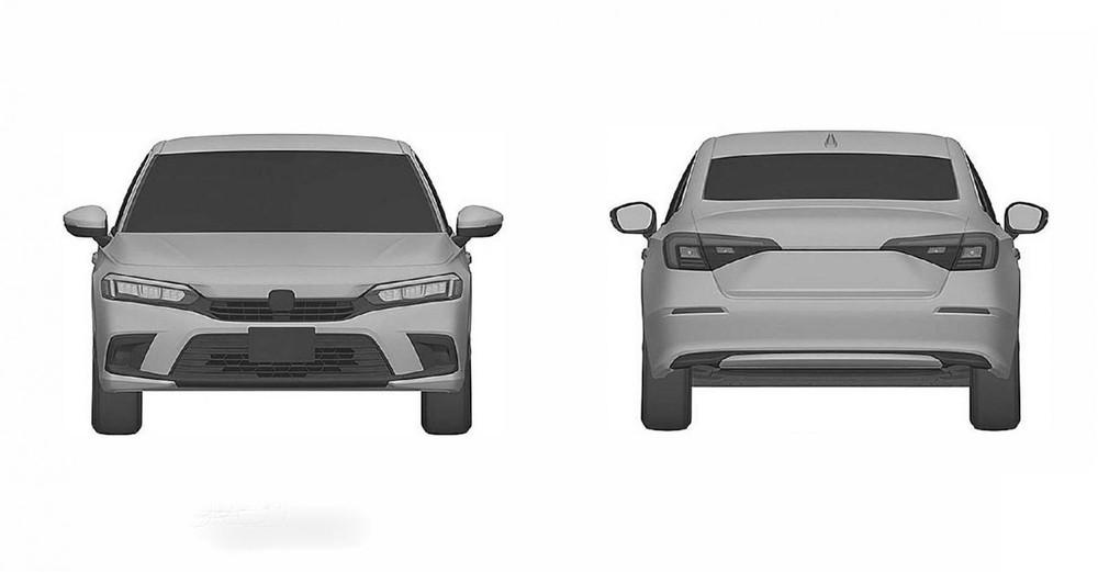 Hình ảnh rò rỉ hé lộ thiết kế của Honda Civic Sedan thế hệ mới