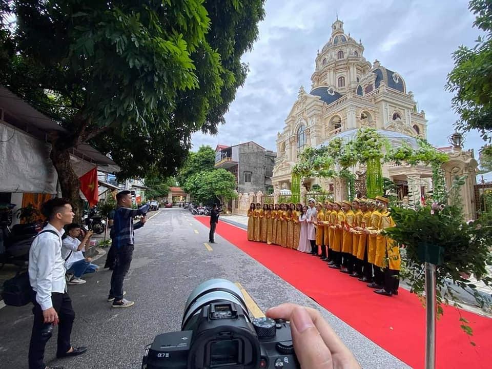 Lâu đài diễn ra đám cưới ở Tuyên Quang