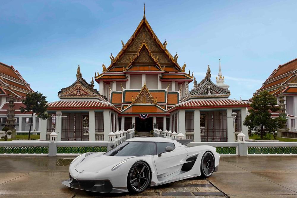 Vẻ đẹp của Koenigsegg Jesko Absolut tại Thái Lan