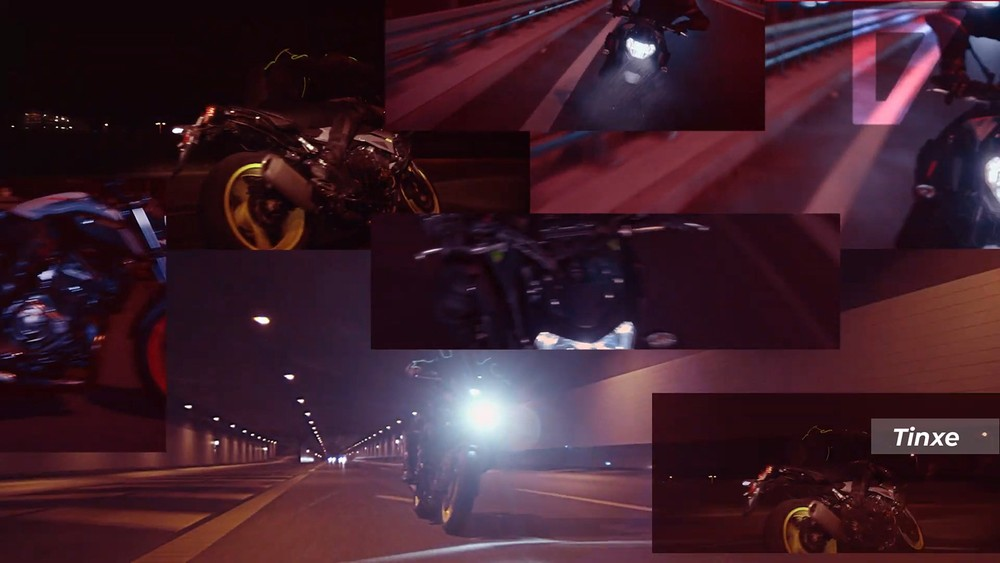 Yamaha MT-07 2021 cũng xuất hiện trong đoạn video