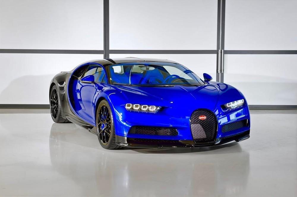 Bugatti Chiron Sport là phiên bản dành cho đường đua của Chiron