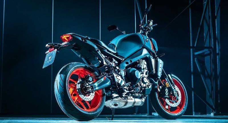 Yamaha MT-09 2021 mang thiết kế hoàn toàn mới