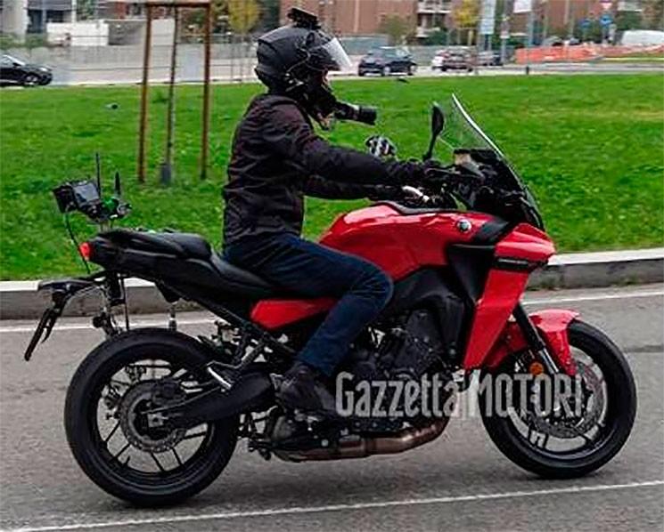 Yamaha Tracer 900 2021 chạy thử nghiệm tại châu Âu