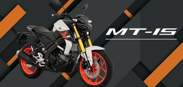 Yamaha MT-15 nâng cấp phiên bản với tem mới nổi bật