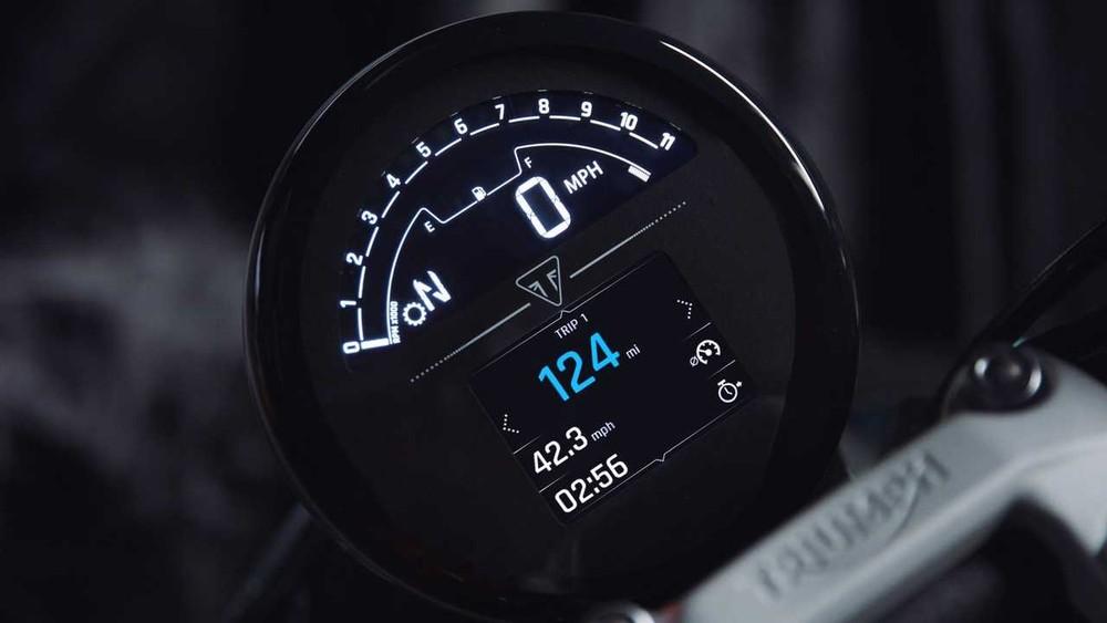 Đồng hồ TFT màu tuyệt đẹp trên Trident
