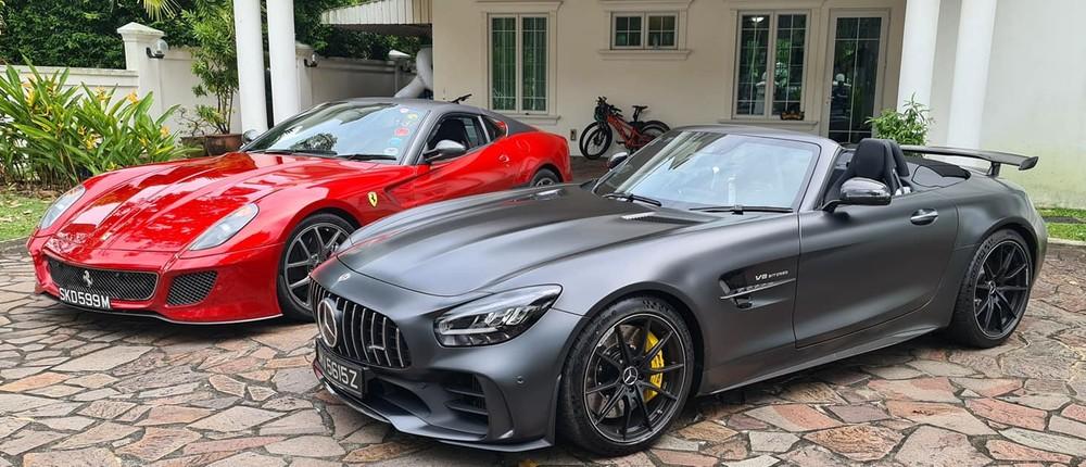 Ferrari 599 GTO chỉ có 599 chiếc và Mercedes-AMG GT R Roadster được sản xuất có 750 xe trên thế giới