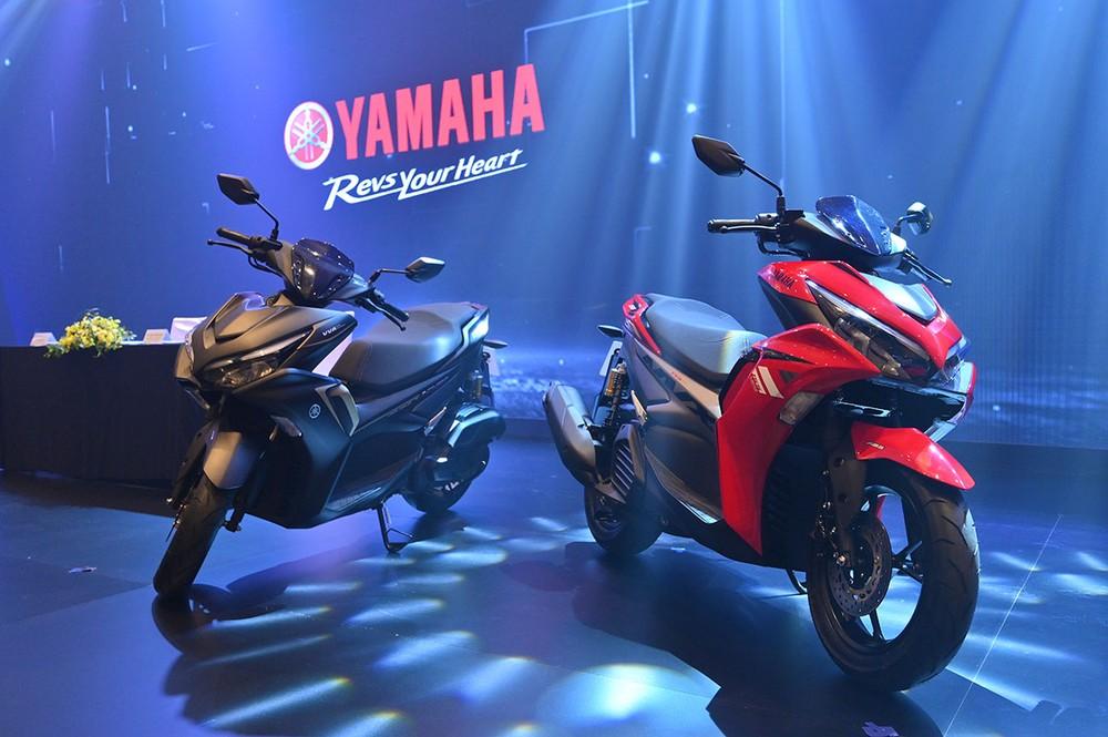 Yamaha NVX 155 mang thiết kế mưới