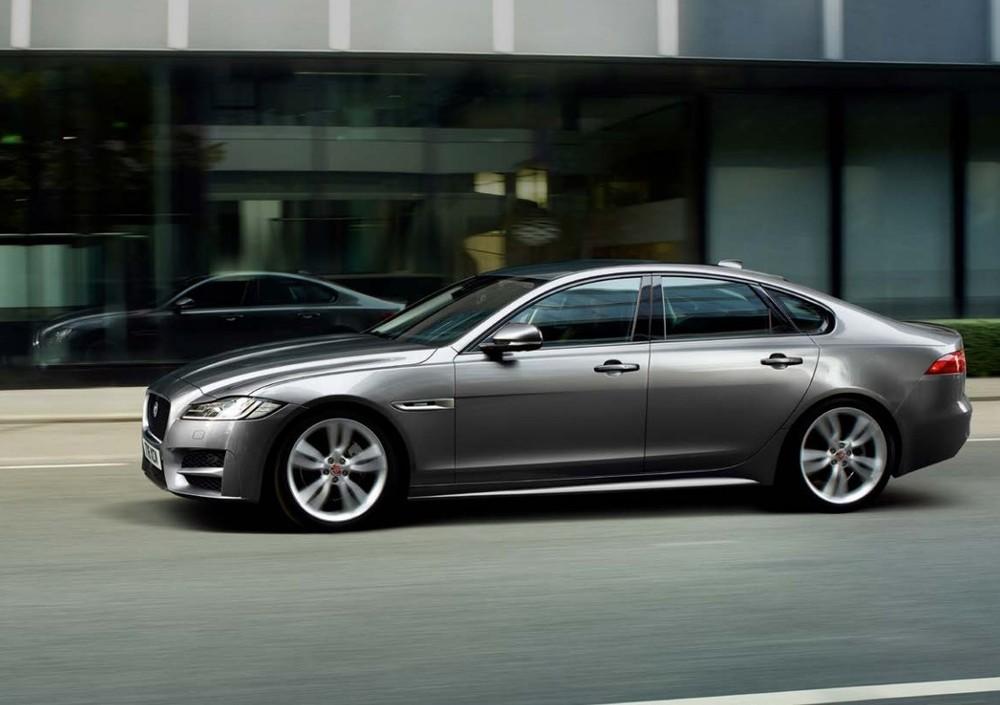 Thiết kế ngoại thất của Jaguar XF 2020
