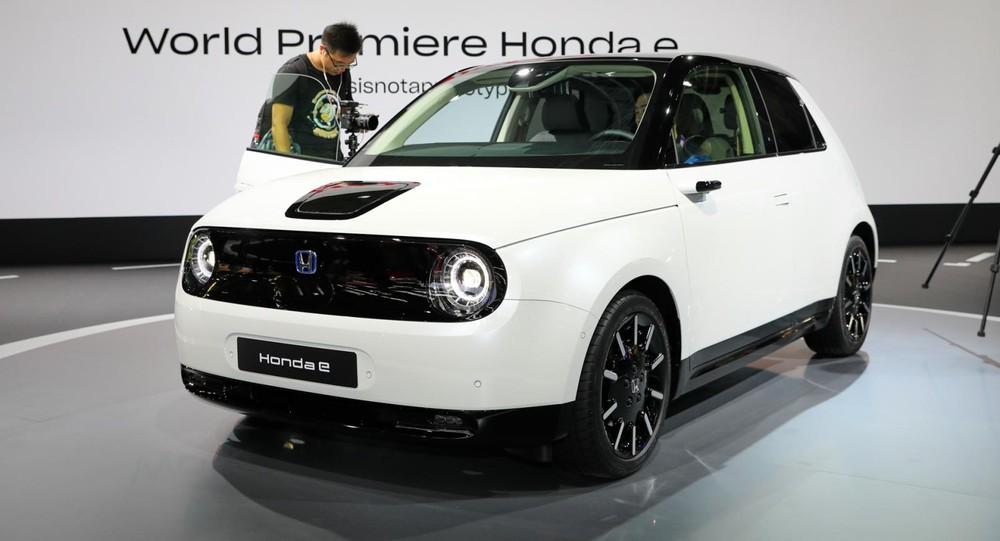 Honda e đã được nhận giải Xe của năm 2021 tại Đức