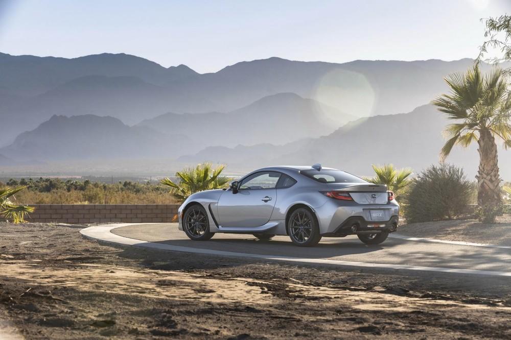 Subaru BRZ 2022 chưa được công bố giá