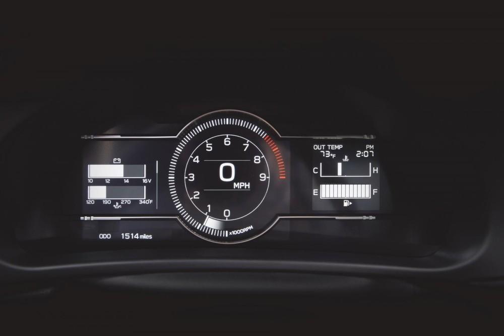 Bảng đồng hồ của Subaru BRZ 2022