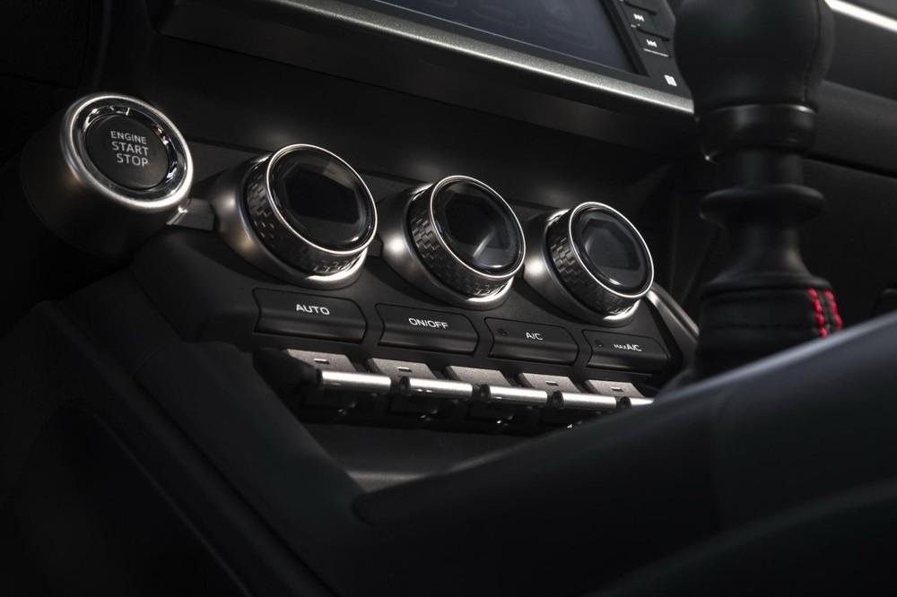 Nút chỉnh điều hòa của Subaru BRZ 2022