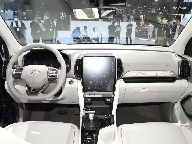 Nội thất đơn giản bên trong Hyundai ix35 2021