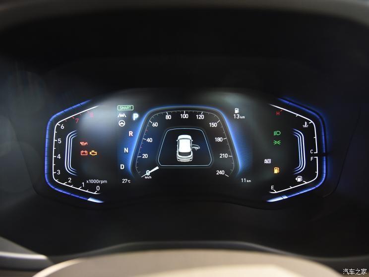Bảng đồng hồ kỹ thuật số của Hyundai ix35 2021