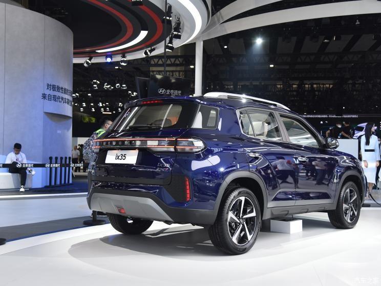 Hyundai ix35 2021 thực chất là phiên bản khác tên và khác thiết kế của Tucson