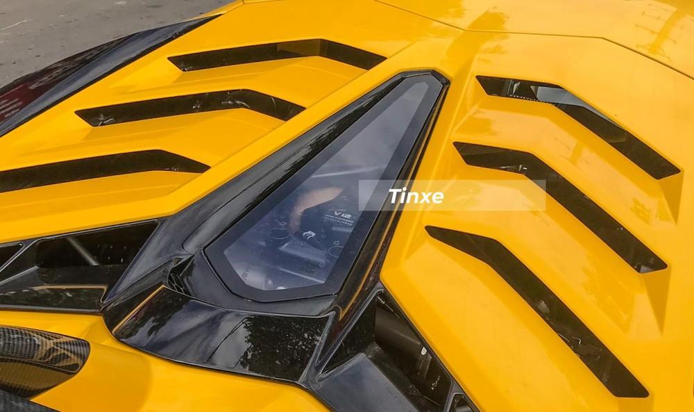 Động cơ V12 của siêu xe Lamborghini Aventador SVJ mới xuất hiện ở Đà Nẵng