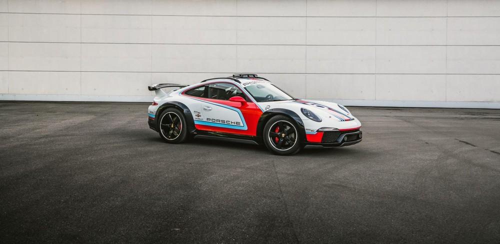 Porsche 911Vision Safari là một trong những mẫu xe bí mật mới được tiết lộ
