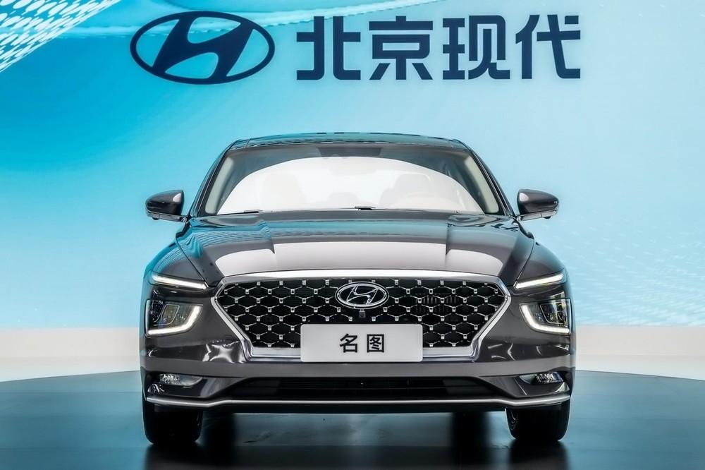 Cận cảnh thiết kế đầu xe của Hyundai Mistra 2021