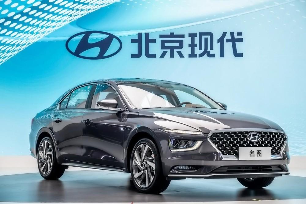 Hyundai Mistra 2021 có hệ thống đèn phía trước khá lạ mắt
