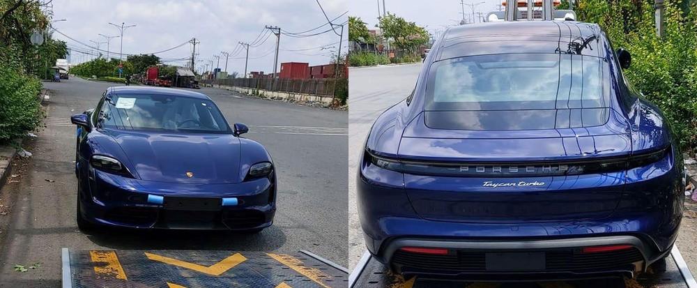 Chiếc Porsche Taycan đầu tiên về Việt Nam