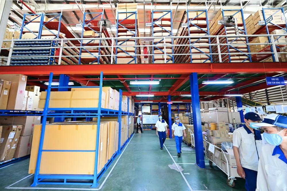 Với ba kho lớn trên toàn quốc, Việt Nam Suzuki dự trữ hơn 510.000 phụ tùng