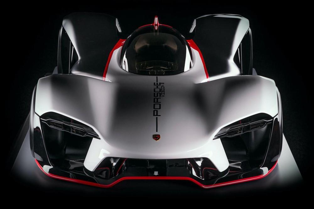 Porsche Vision E sẽ là mẫu xe đua điện bán cho khách hàng tư nhân nếu được sản xuất thật
