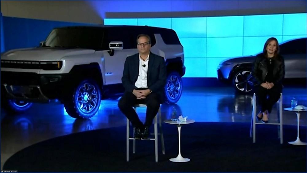 Hình ảnh rò rỉ của phiên bản SUV GMC Hummer EV