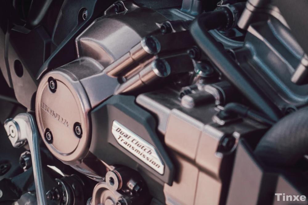 Khối động cơ đặc biệt trên Honda Africa Twin
