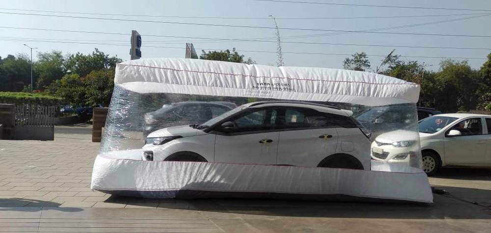 Safety Bubble là một biện pháp phòng chống dịch Covid-19 của hãng xe Tata
