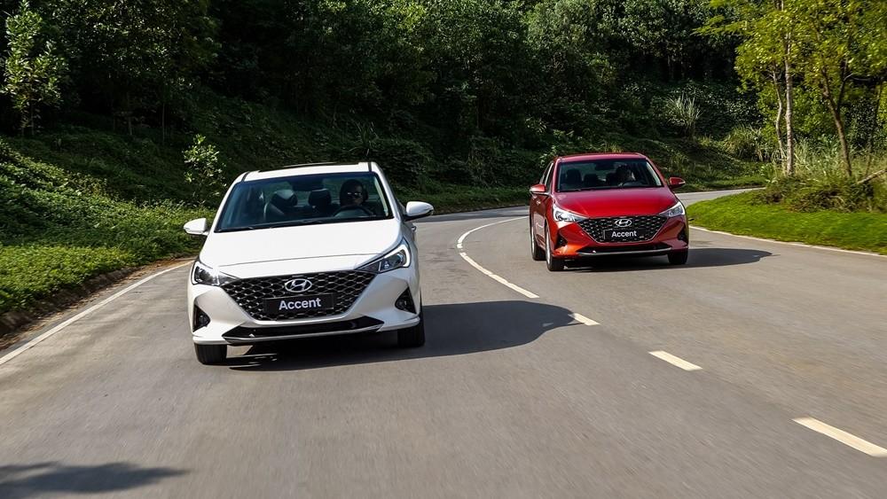 Giá xe Hyundai Accent từ 426 - 542 triệu đồng