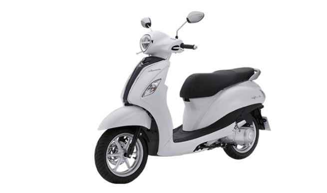 Yamaha Grande màu trắng